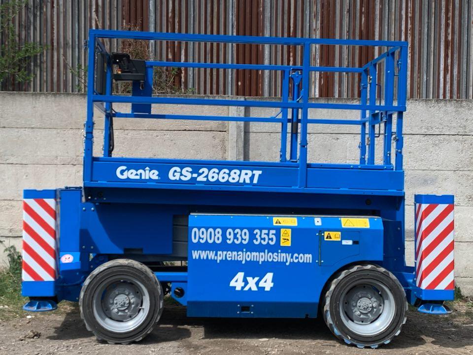 Plošina Genie GS-2668RT 4×4 diesel